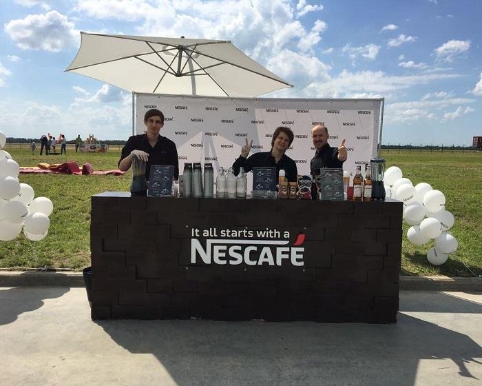 Nescafe CLAAS