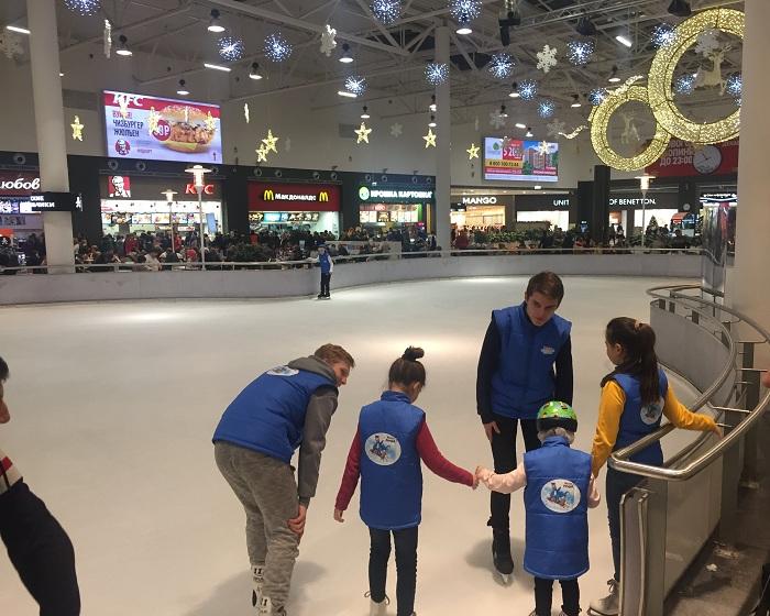 МК по катанию на коньках Kinder
